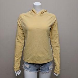 🌻5/15$ Tommy Hilfiger yellow blue stripe hoodie